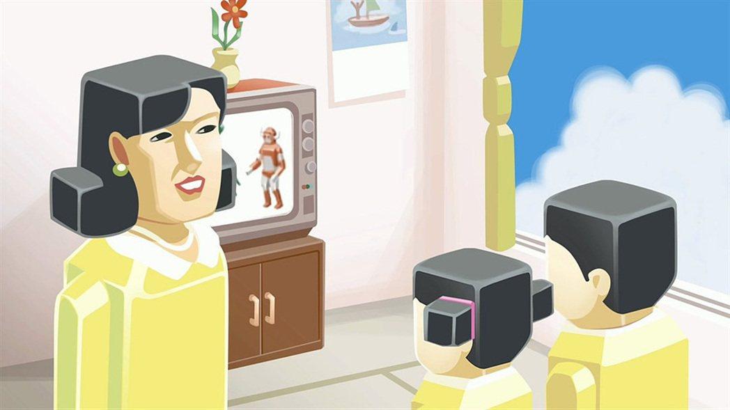 遊戲中的圖像都很幽默逗趣,手繪風強烈,還帶有昭和時代的復古懷舊感。