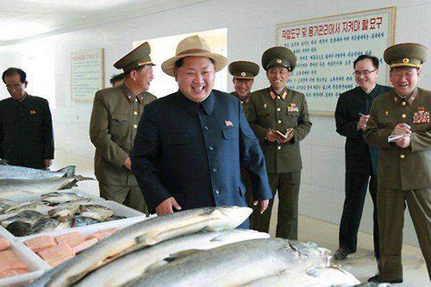 朝鮮經貿文化情報DPRK表示北韓擁有豐富的鮭魚資源。圖/翻攝自臉書粉專「朝鮮經貿文化情報DPRK」