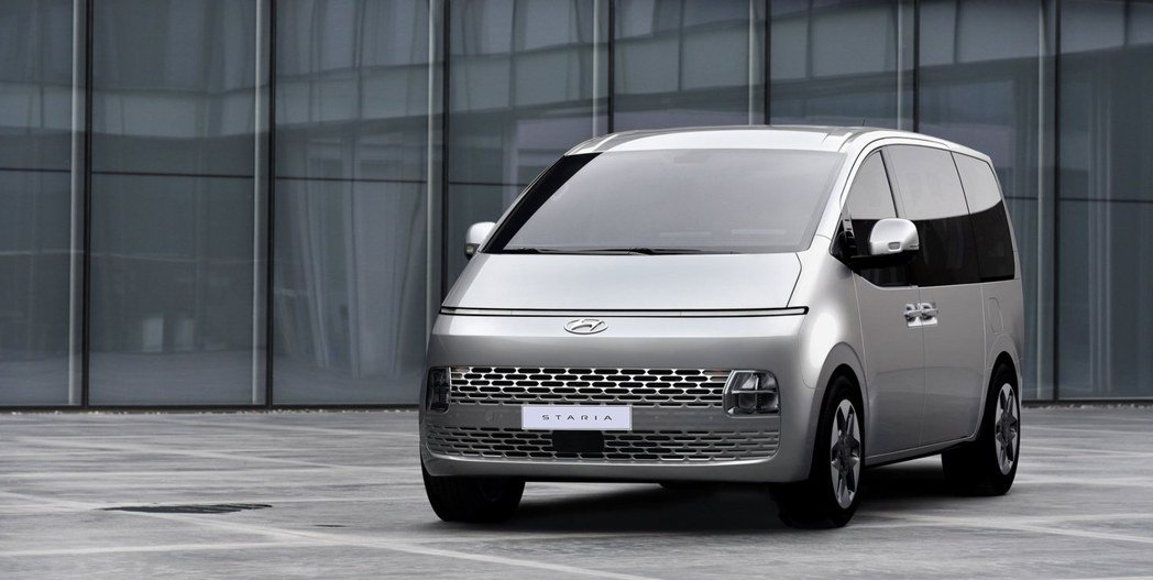 全新Hyundai Staria一般版本車型式樣。 摘自Hyundai