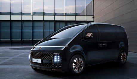 叫陣Carnival、最多可達11人座 全新Hyundai Staria內外造型搶先看!
