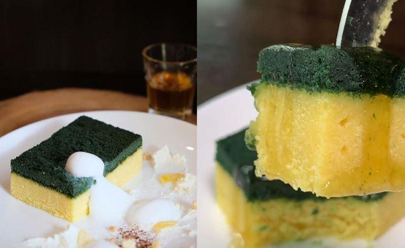 泰國一款「菜瓜布蛋糕」引發關注。 圖擷自paigingun Instagram