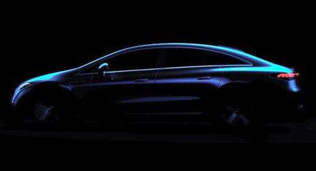 Mercedes-Benz EQS剪影曝光啦 就是一輛四門Coupe!