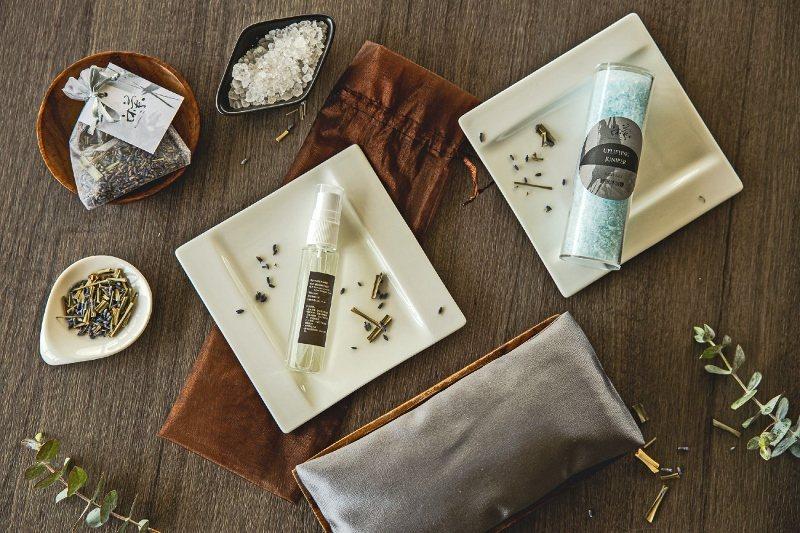 價值2,000元的沐蘭SPA一夜好眠禮包,內含香氛浴鹽、淨化液以及薰衣草包、東方...