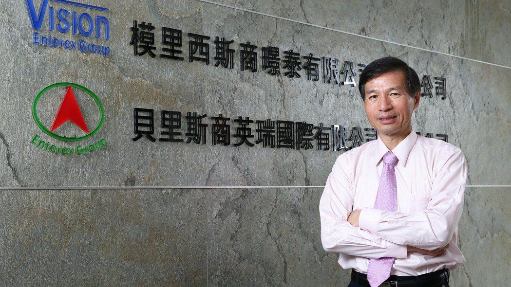 英瑞-KY董事長翁文鍾。 圖/報系資料照