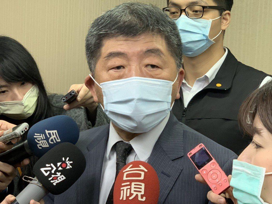 衛福部長陳時中。記者陳雨鑫/攝影