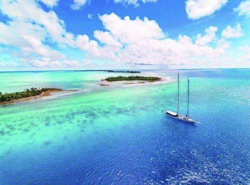 台灣與帛琉可望近期內共同宣布旅遊泡泡。法新社