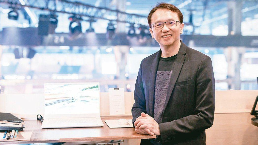 宏碁董事長陳俊聖。報系資料照