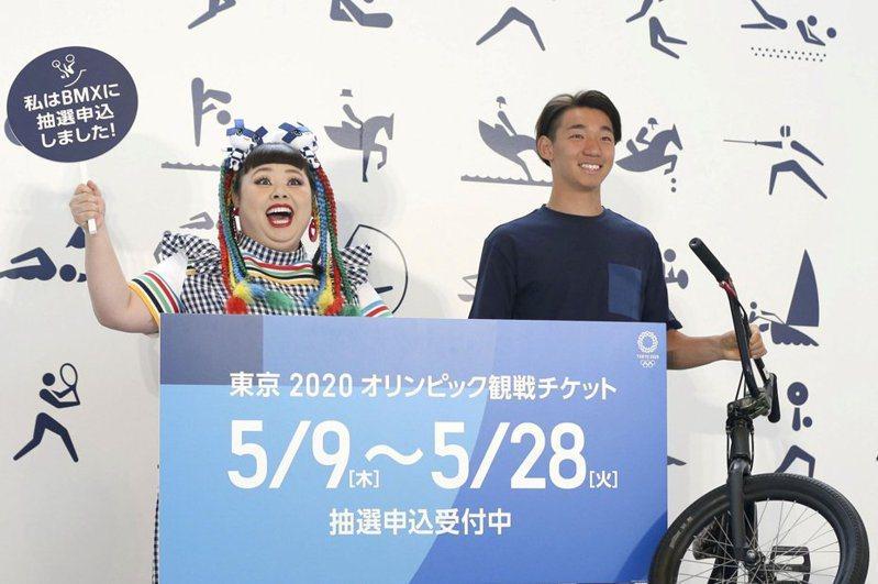 籌劃東京奧運開幕式的負責人佐佐木宏被爆出曾提案要女演員渡邊直美(左)扮豬,取「奧