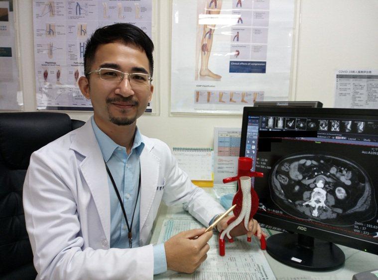 楊智鈞提醒大家,持續閉氣用力嚴重可能造成大動脈受傷,因此要特別留意。圖/大千綜合...