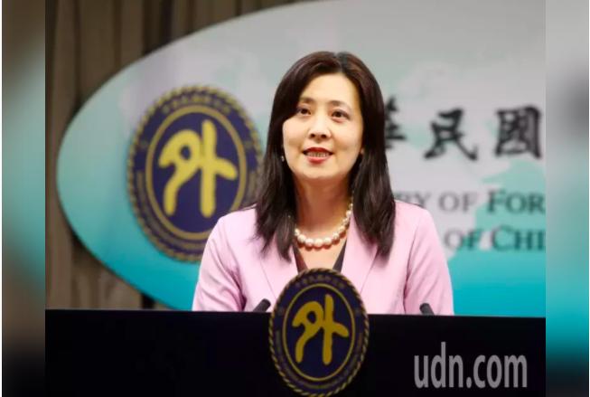 外交部發言人歐江安。本報資料照片