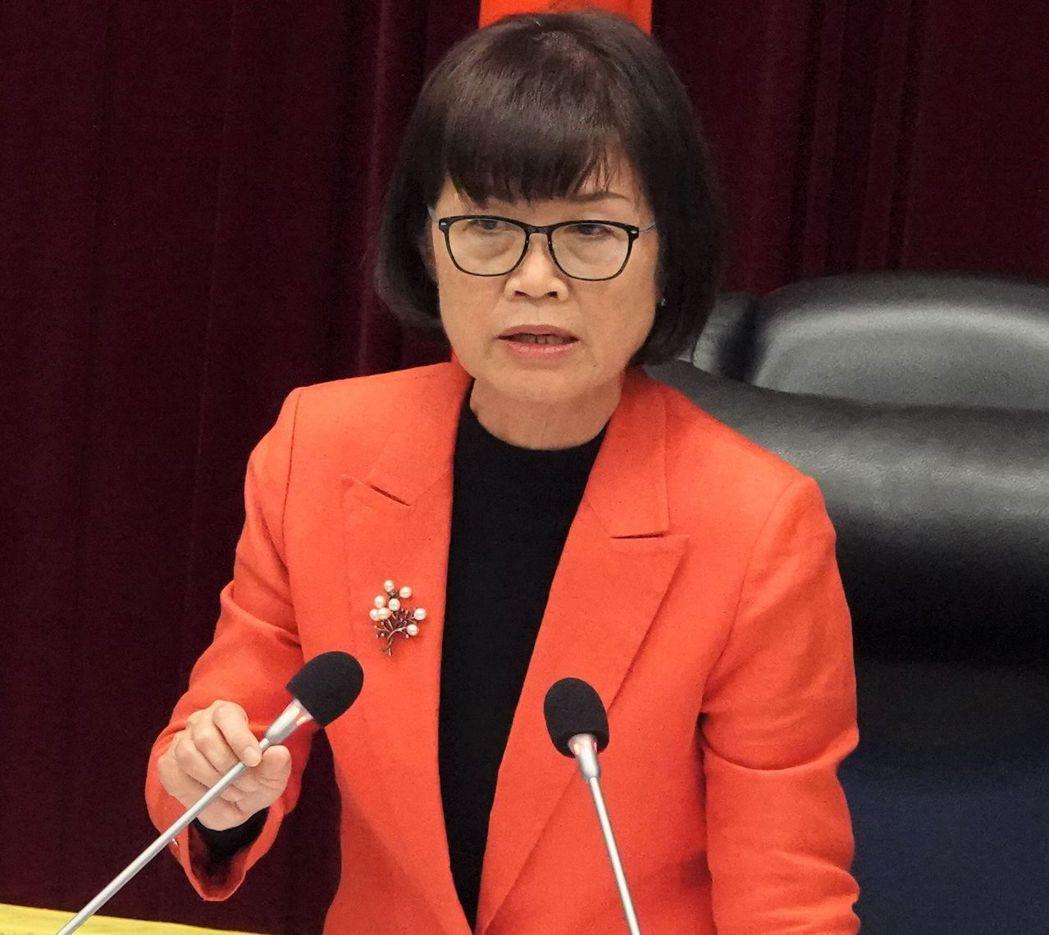高雄市議長曾麗燕歷任4屆議員,去年7月31日補選上議長。圖/高雄市議會提供