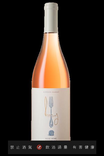 來自蒙特利產區粉紅酒2019。 圖/摘自Gordon Ramsay Wines官網。 提醒您:禁止酒駕 飲酒過量有礙健康。