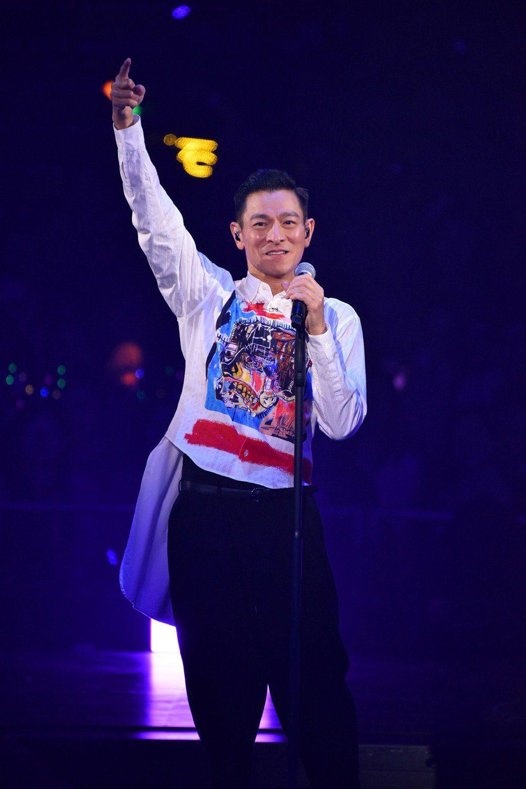劉德華的演唱會是場搶票大戰。圖/台灣映藝提供