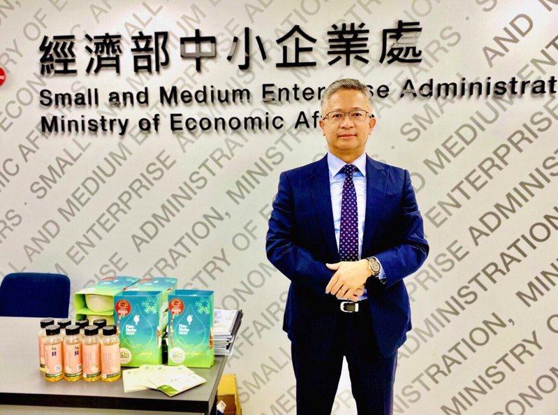 「臻品植萃」獲選經濟部OTOP國家代表隊,圖為創辦人陳勇利博士。記者宋健生/攝影