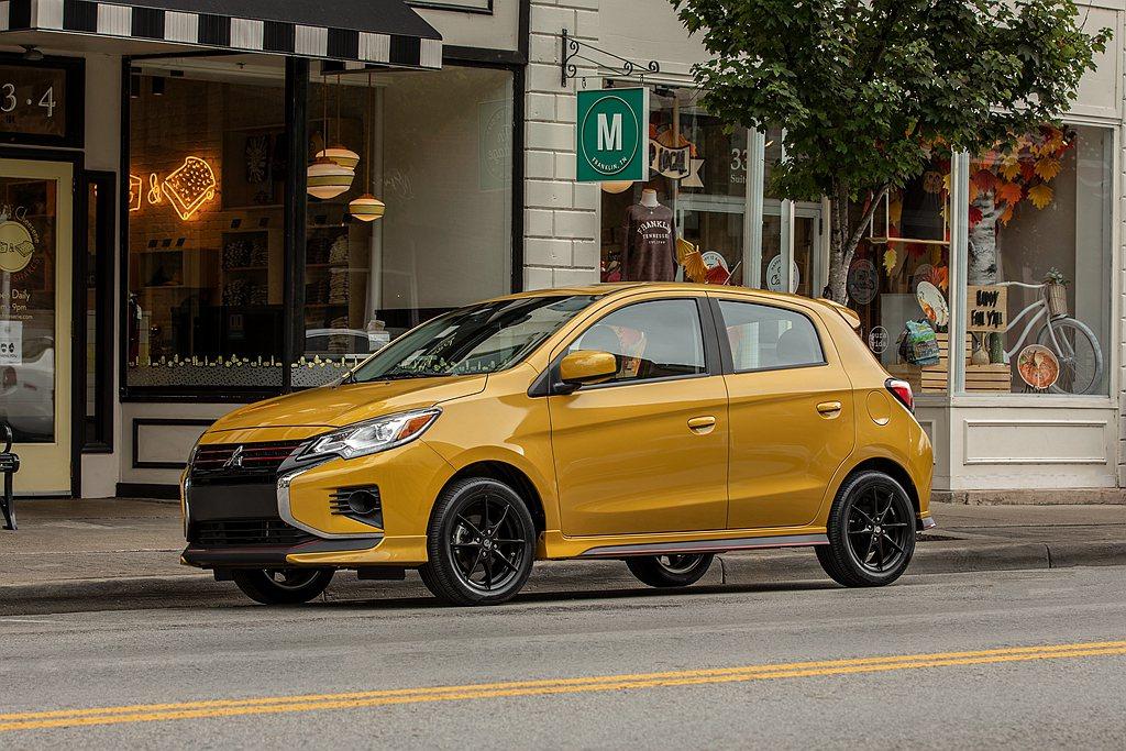 美規小改款三菱Mirage導入新世代「Dynamic Shield」車頭造型設計...