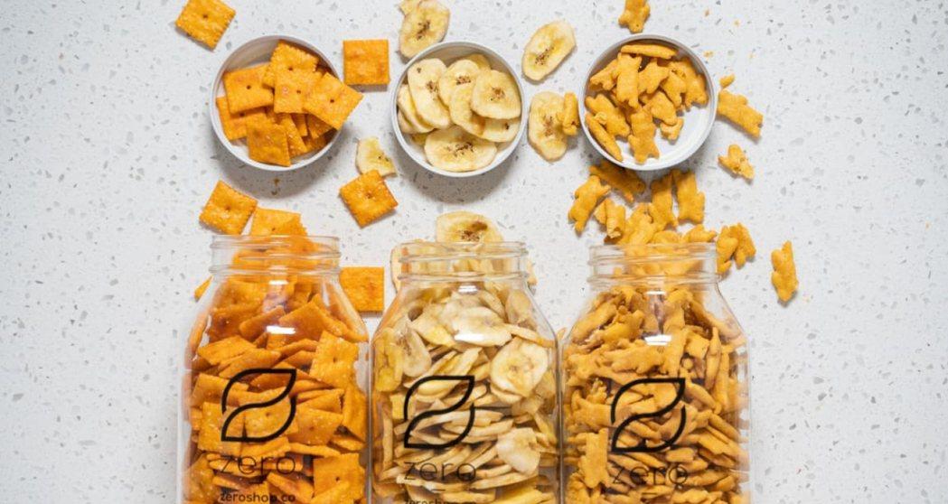 目前,Zero Grocery 旗下,以可重複使用的容器、或生物可分解包裝運送的...