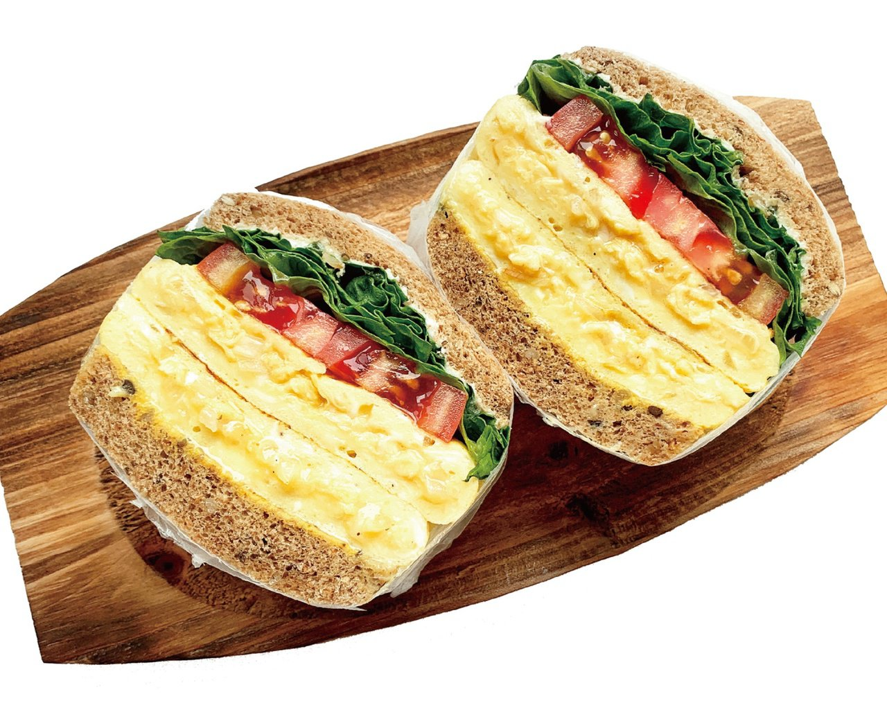 Rami設計:歐姆蛋三明治。 圖/聯經出版社提供