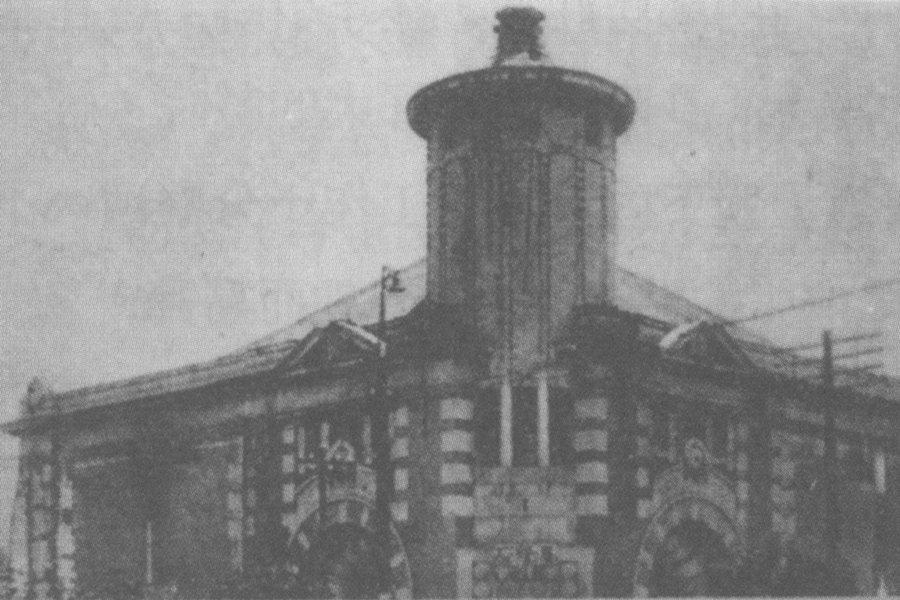 「基隆座」為基隆市第一家電影院,興建於1908年3月2日,創辦人為高松豐次郎。 圖/國家文化記憶庫
