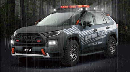 Toyota RAV4竟有越野救援版?全車黑化就是條硬漢!