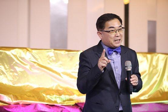 諾瓦材料科技董事長楊聯智的開幕致詞。 諾瓦材料科技/提供