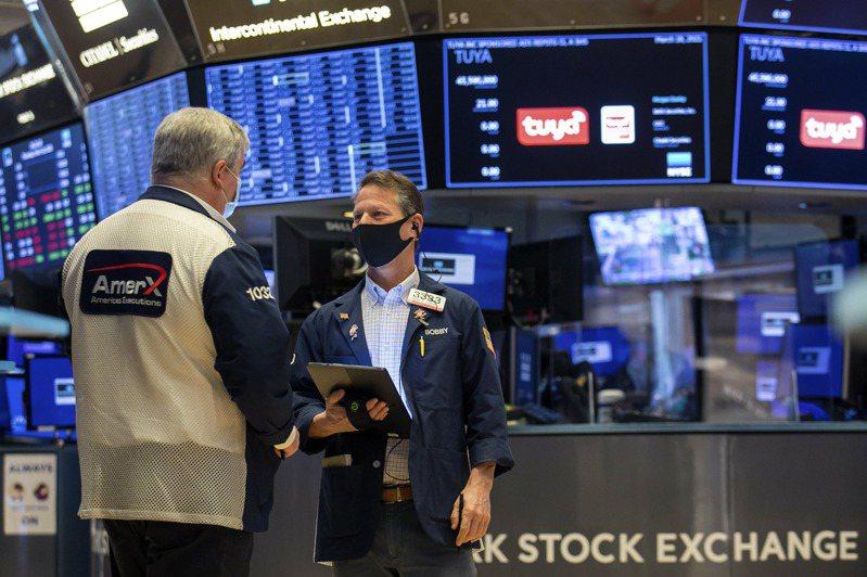 投資人認為,美國10年期公債殖利率大漲,提醒投資人他們的科技股價位遠超平均水準。美聯社