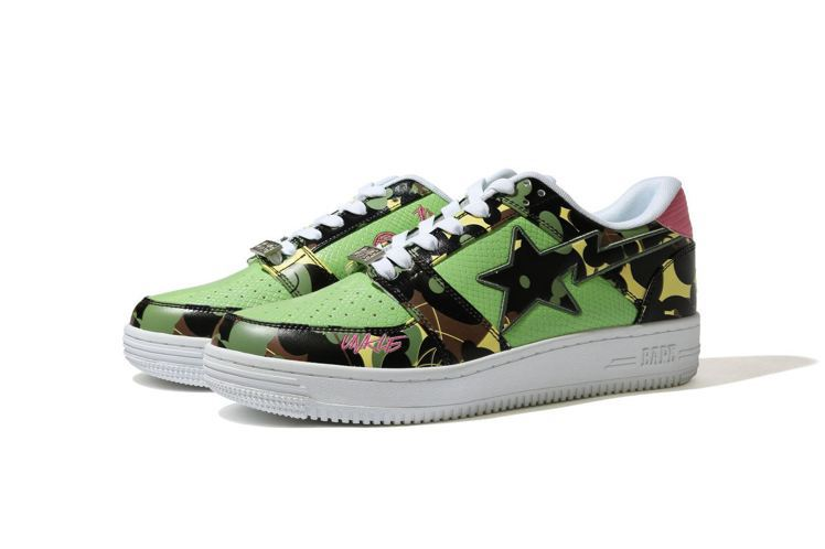 BAPE® × MO'WAX UNKLE聯名BAPE STA™鞋11,199元。...