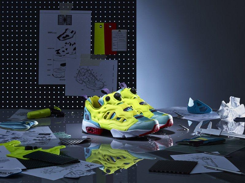 adidas Originals x Reebok ZX Fury鞋6,800元。圖/adidas Originals提供