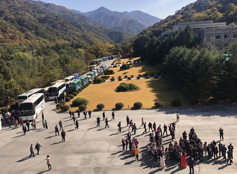 圖為北韓「國際友誼展覽館」,館內展示世界各國政界、社會人士贈送給金日成與金正日的20多萬件珍貴禮品。本報資料照片