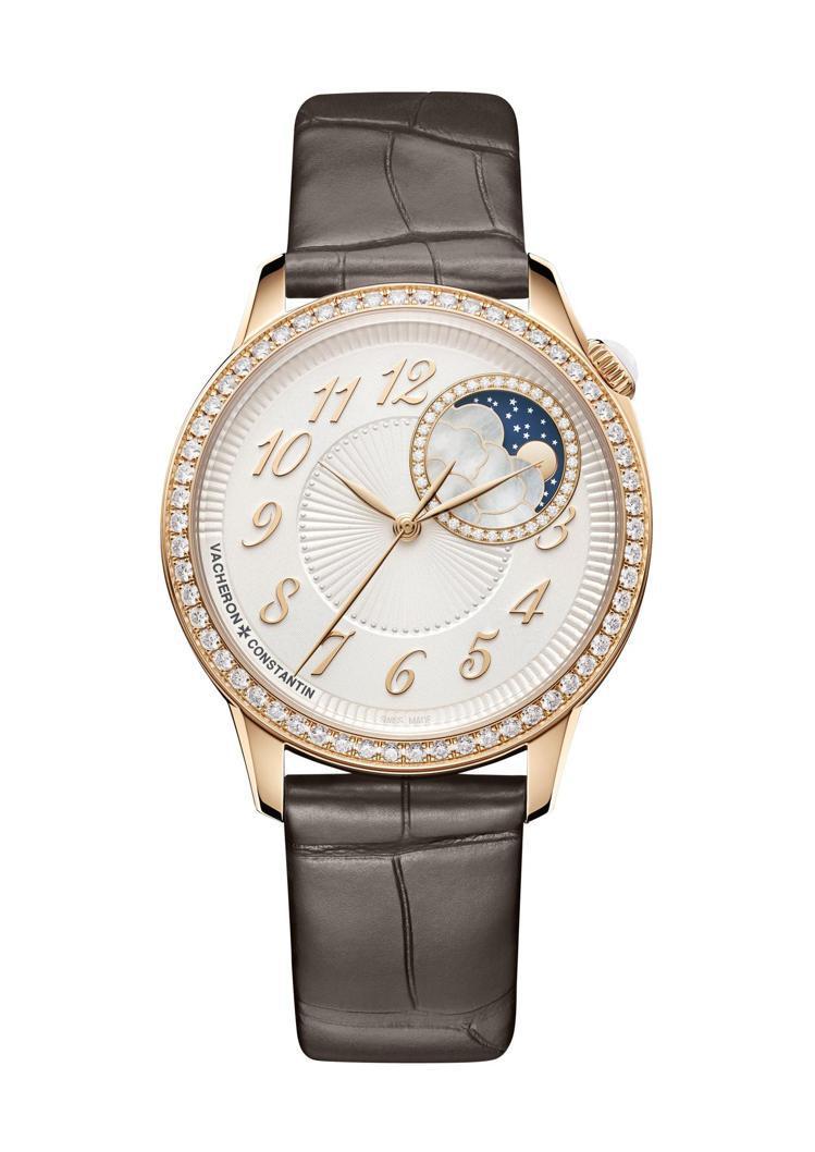 江詩丹頓,ÉGÉRIE系列月相腕表,110萬元。圖 / 江詩丹頓提供。