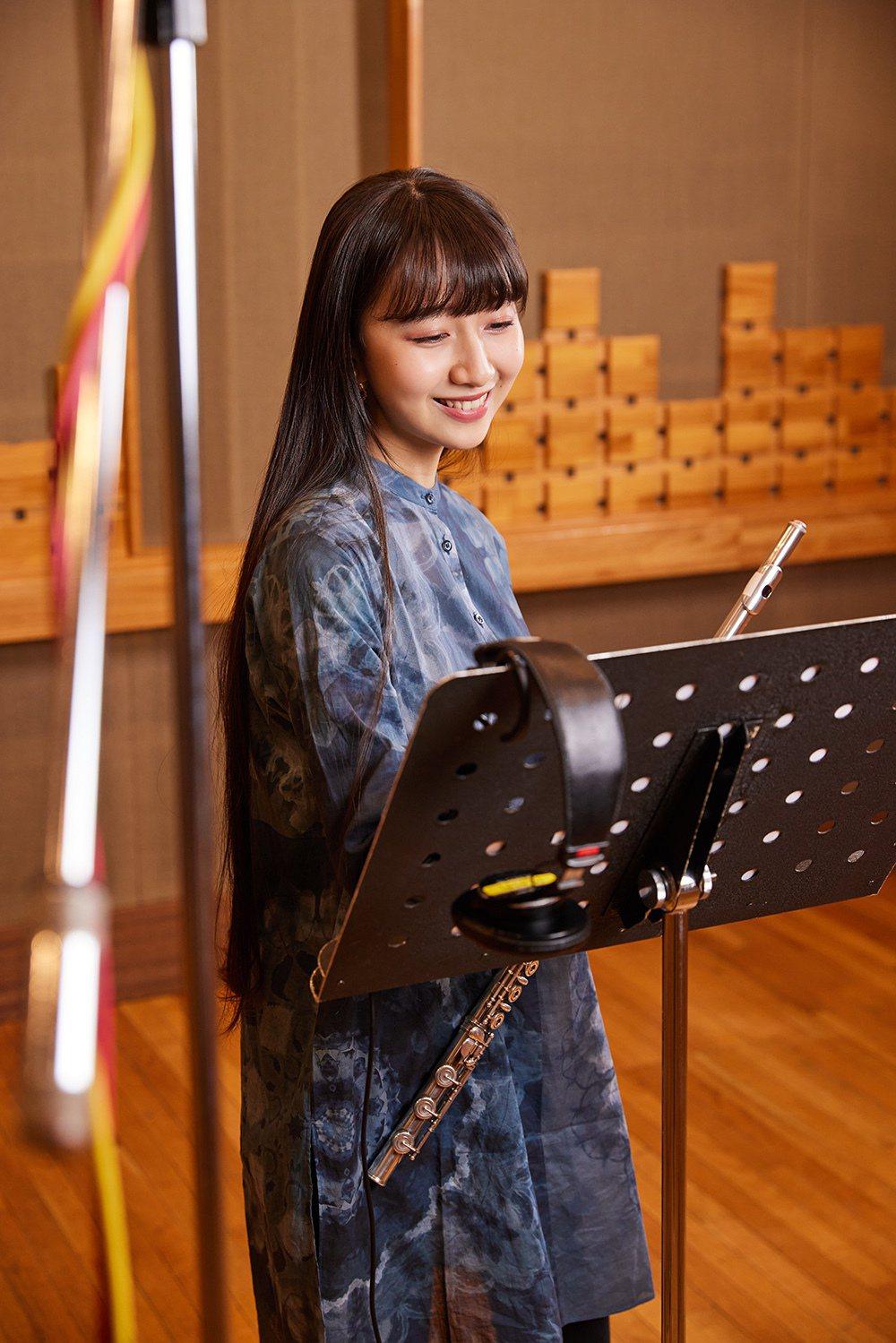 木村心美是標準的音樂美少女。圖/環球音樂提供