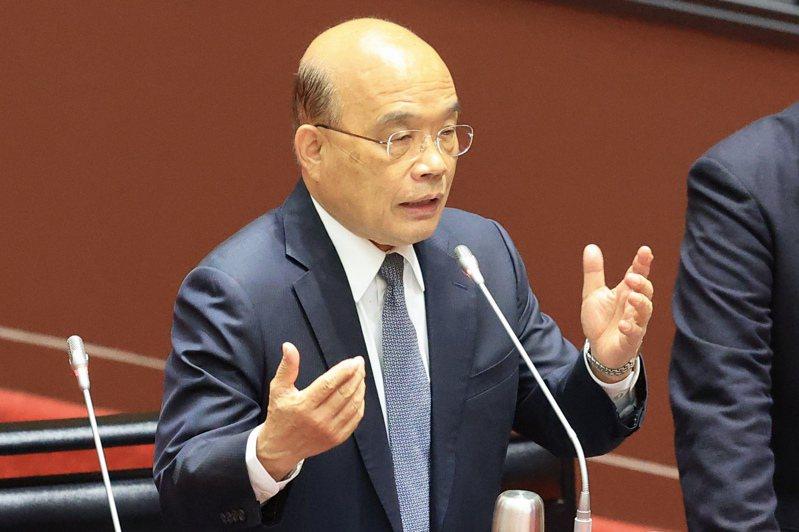 立法院會今天對行政院長蘇貞昌施政方針及施政報告繼續質詢,部會首長列席。記者林伯東/攝影
