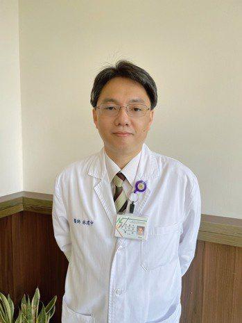 林建中成大醫院胸腔內科主治醫師 圖/林建中提供