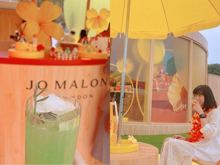 跟Jo Malone來體驗熱帶島嶼體驗,沁涼的熱帶沁涼飲品,一同來個熱島旅遊。記...