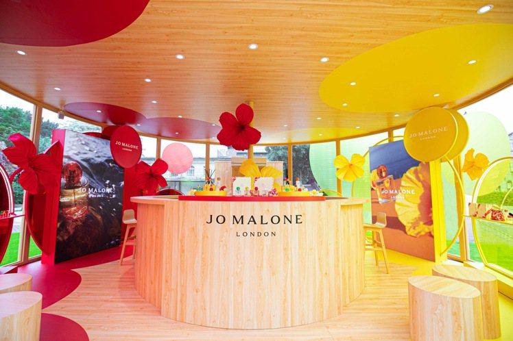 Jo Malone London熱帶島嶼花園之旅於華山1914文創產業園區忠孝三...