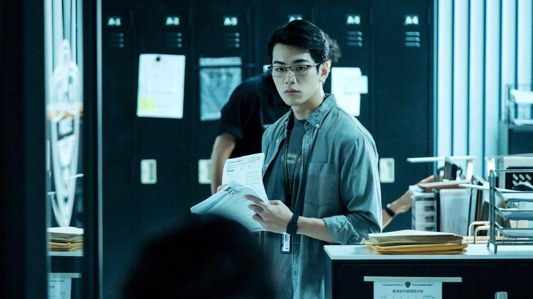 禾浩辰在戲中沉默寡言。圖/東森戲劇台提供