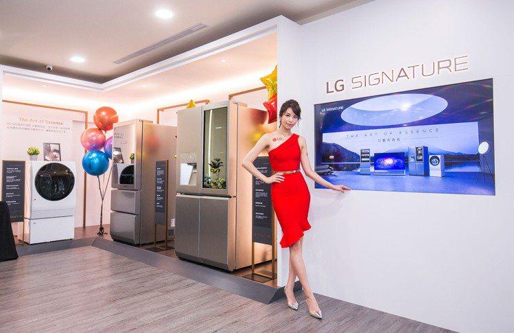 LG桃園品牌旗艦店是全台唯一完整展售全系列LG SIGNATURE的旗艦店,讓消...