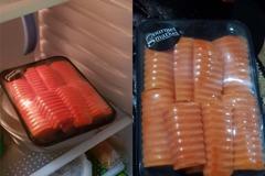 冰箱有生鮭魚片爽喊「免改名就能吃」 他買完哇沙米細看暴怒