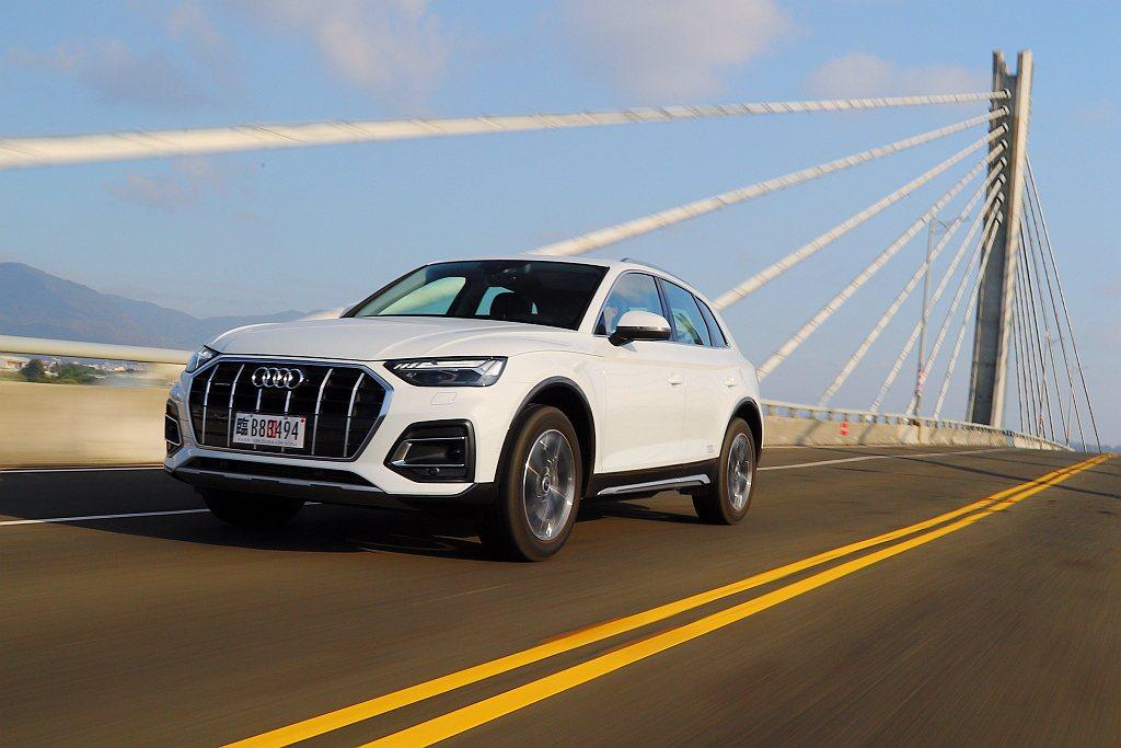 身為品牌熱賣休旅車系之一的Audi Q5,小改款帶來更多科技層面上的進化。 記者...