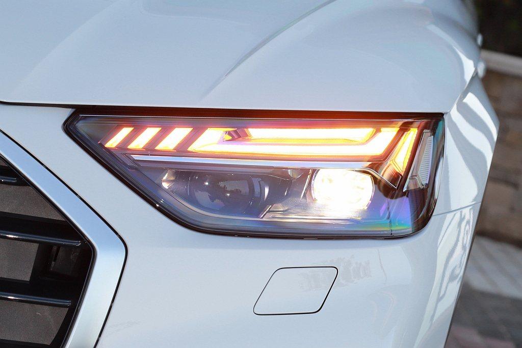 小改款Audi Q5頭燈辨識燈型看齊新世代箭矢造型設計,45 TFSI quat...