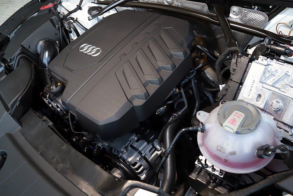 順應MHEV趨勢,小改款Audi Q5也導入12V啟動馬達集合發電機(BSG)搭...