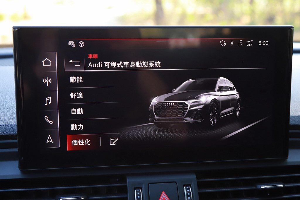 小改款Audi Q5 45 TFSI quattro提供越野、節能、舒適、自動、...