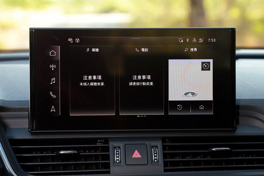 尺寸增加到10.1吋的中央彩色觸控螢幕,不僅視覺角度更偏向駕駛者,調控更為就手之...