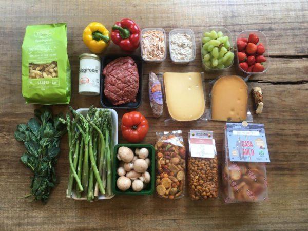 尋找並挑選小農或優質食物箱,成為宅家網購新樂趣。 圖/陳若齡提供