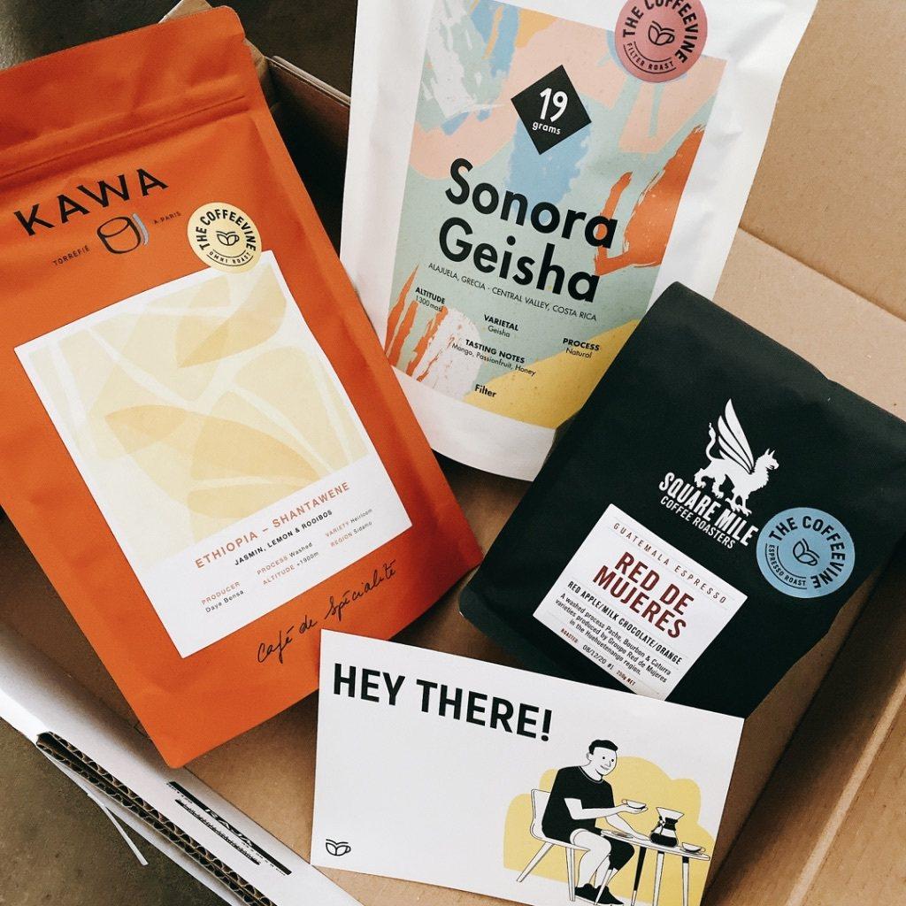 最近一次收到The Coffeevine的咖啡箱,有分別來自倫敦、巴黎和柏林三家...