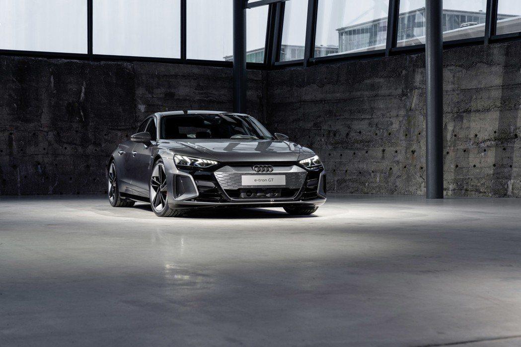 全新Audi e-tron GT。 摘自Audi