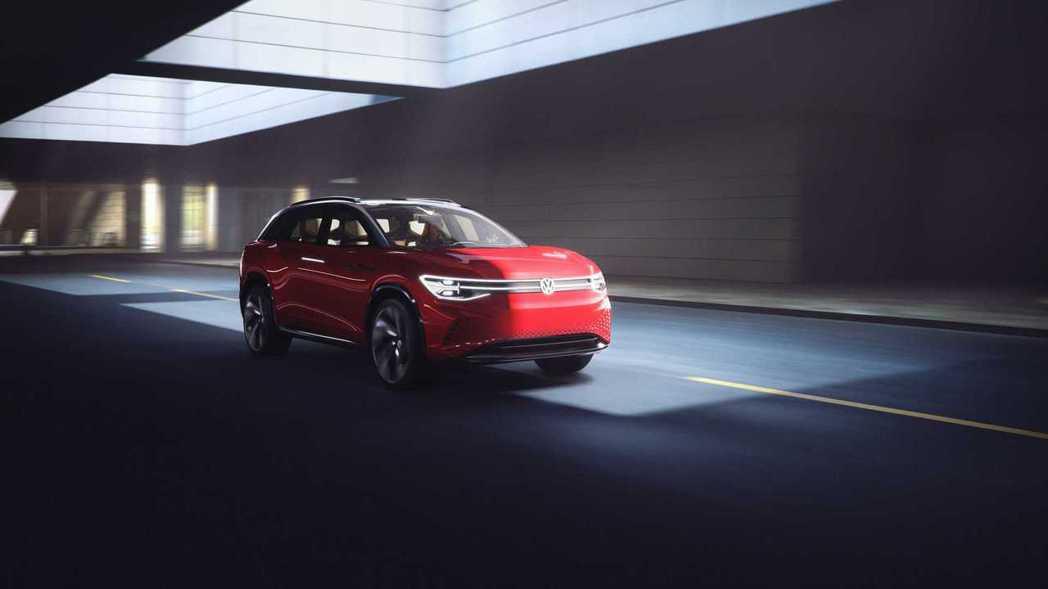 Volkswagen ID. Roomzz concept。 摘自Volkswa...