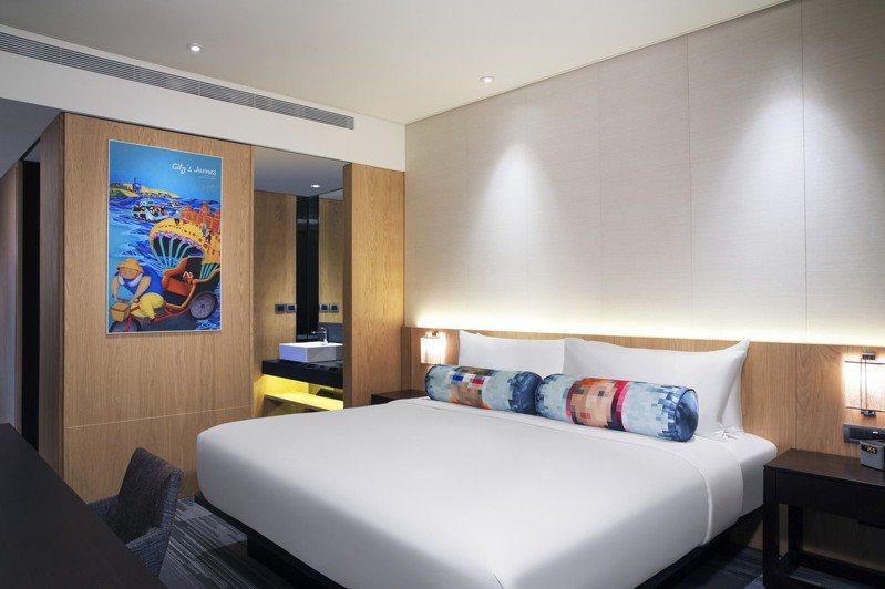 台北中山雅樂軒酒店Aloft Room快活樂窩。圖/中山雅樂軒提供