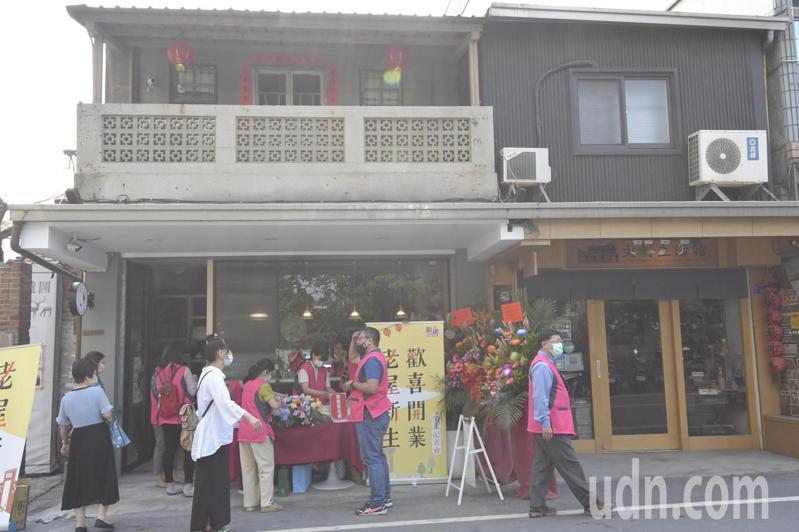 「摸乳巷黃宅」進駐者為從法國返鄉的年輕夫妻,將百年老宅規劃為歐風選物店。記者林敬家/攝影