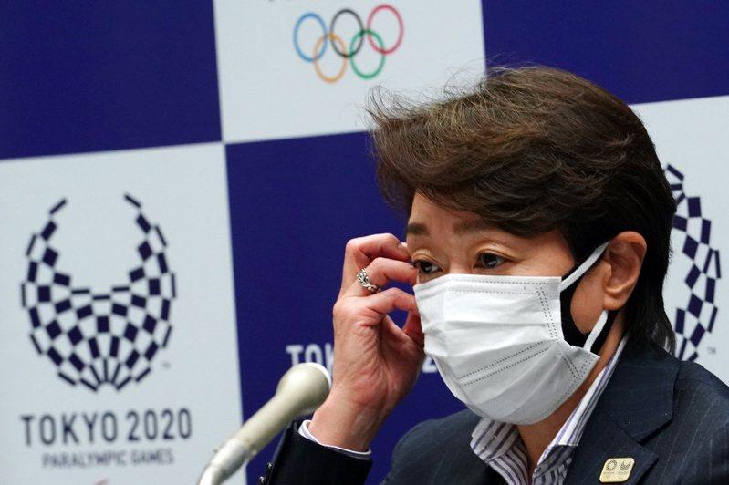 東京奧運組委會、日本政府、東京都、國際奧林匹克與帕林匹克委員會,20日拍板定案將不開放海外觀眾。圖為組委會會長橋本聖子。歐新社