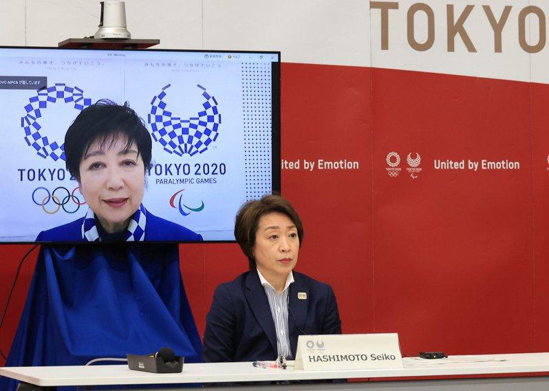 日本東京奧運及帕運5方會談昨天舉行,考量到新冠肺炎疫情未歇,決定不接受海外觀眾觀賽,這是奧運史上首次對觀眾設限。 歐新社